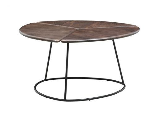 Shard Coffee Table, Walnut