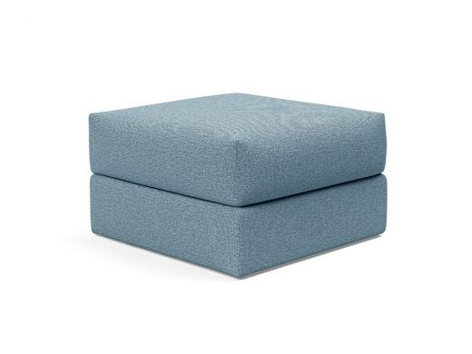 Cornila Ottoman with storage, Blue
