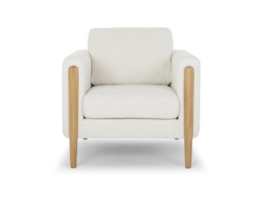 Frank Arm Chair, Ivory