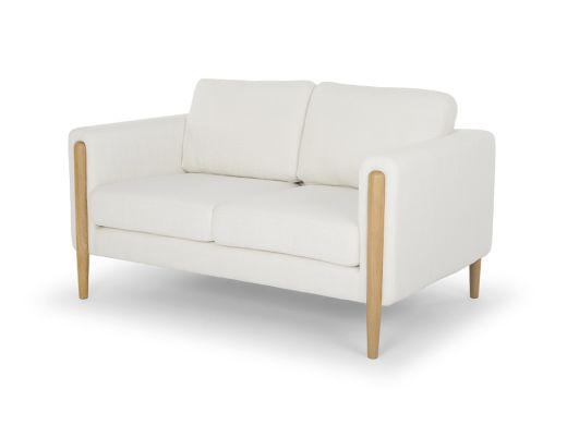 Frank 2 Seat Sofa, Ivory