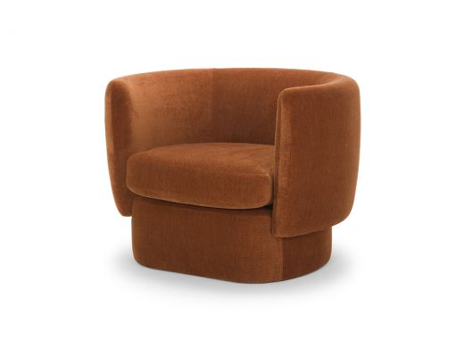Leah Occasional Chair, Rust