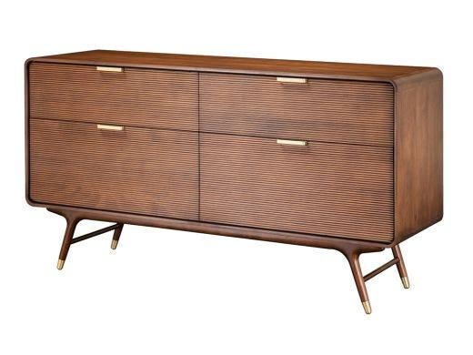 Dean 4 Drawer Dresser, Brown