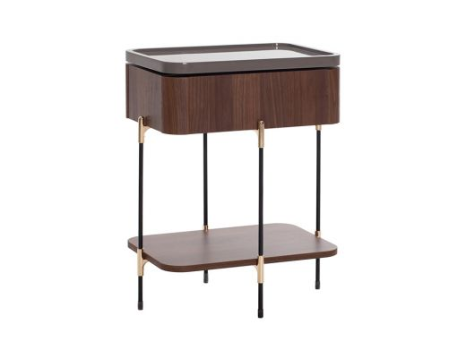Jackson Side Table, with Speaker and USB
