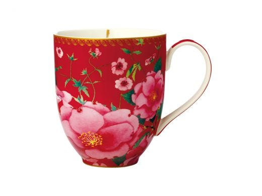 Silk Road Coupe Mug Red
