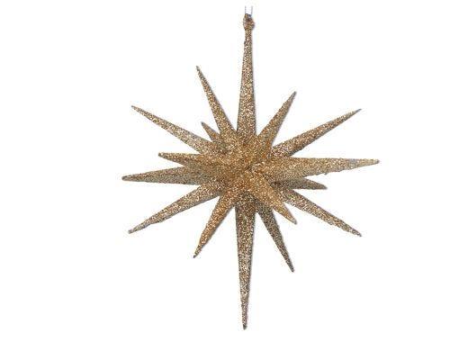 Gold Glitter Bethlehem Star
