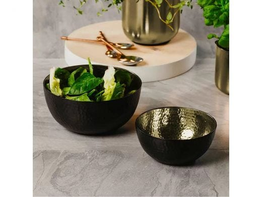Gold Nesting Bowl Set of 2