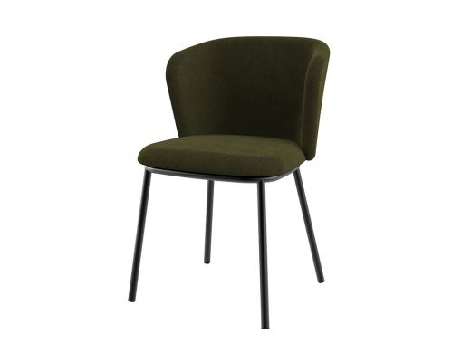 Lotte Dining Chair, Moss Green