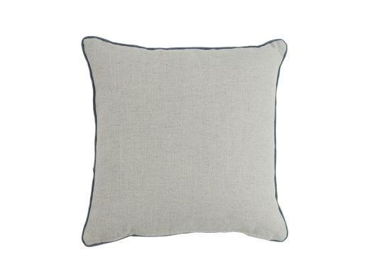 Procida Linen Cushion Cover, Soft Grey