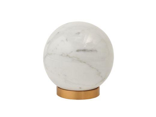 Luxor Marble Ornament, White