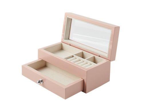 Isabella Jewellery Box, Pink