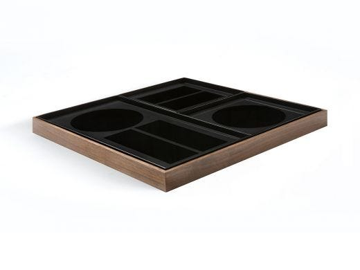 Charcoal Desk Organiser Tray Set