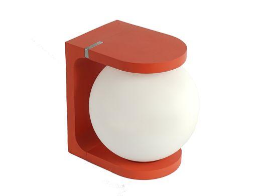 Plat Light with Wireless Charging, Orange