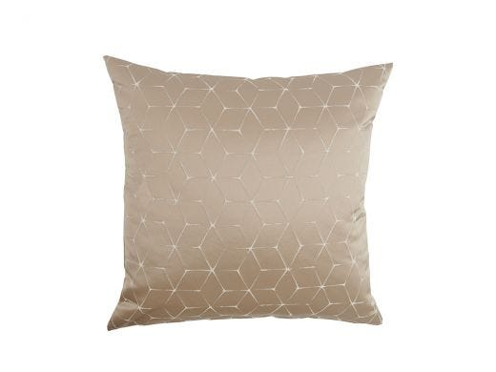 Cubist Cushion Cover, Beige