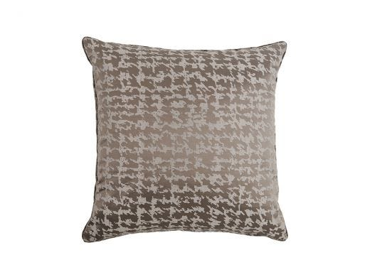 Houndstooth Cushion Cover, Grey