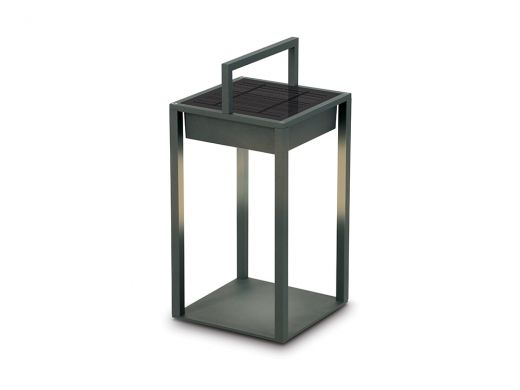 Retro Table Lantern, LED Light