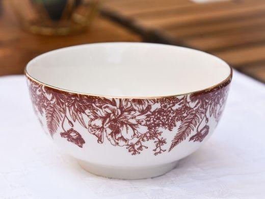 Flora Big Bowl 18cm, Red