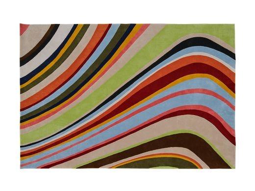 Ripple Rug, Multicolour