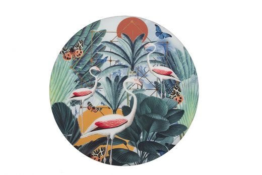 Flamingo Sunrise Artwork Disc