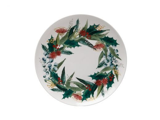 Holly Berry Plate 20cm