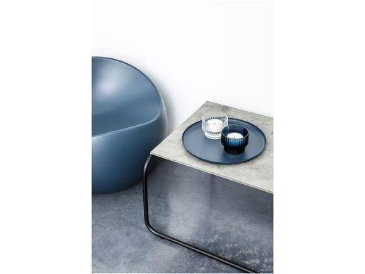 Volta Tealight Candle Holder, Blue