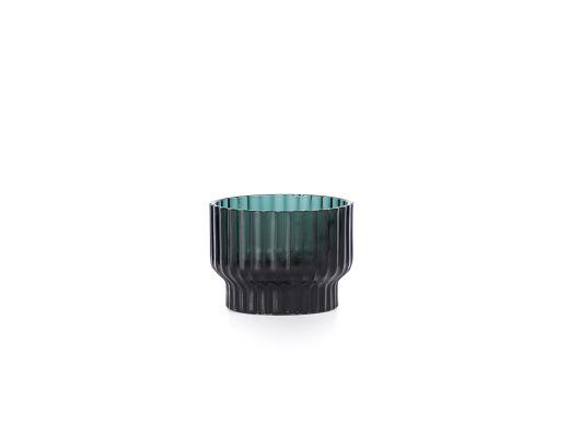 Volta Tealight Candle Holder, Green