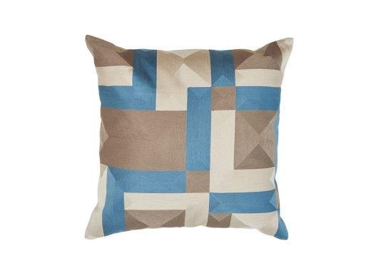 Gautier Cushion Cover, Blue 50x50cm