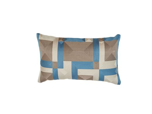 Gautier Cushion Cover, Blue 50x30cm