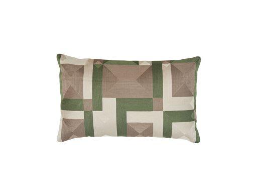 Gautier Cushion Cover, Green 50x30cm