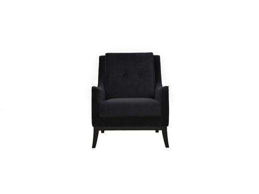 Atlantis Chair - Black Velvet