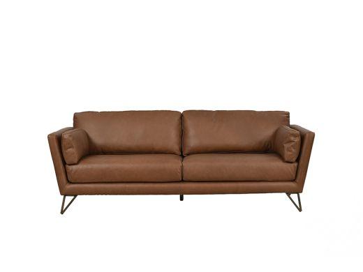 Carolotta 3 Seat Sofa, Old Saddle Nut