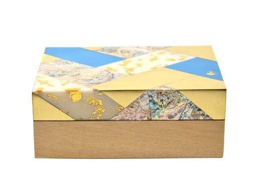 Luna Inlaid Rectangular Box