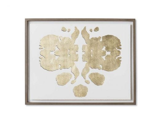 Rorschach Series - White - B