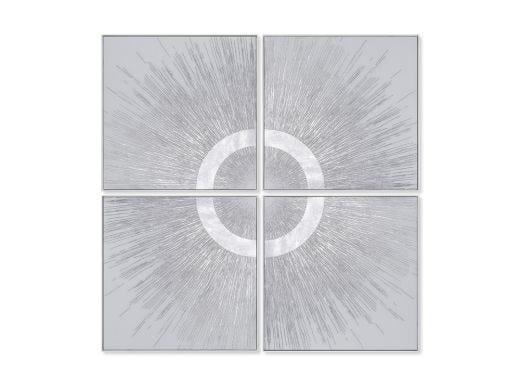 Halo 1 - Silver Wall Art