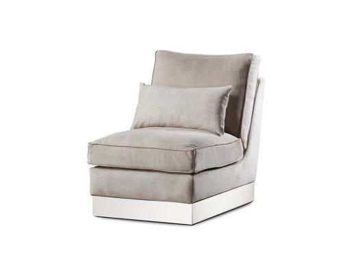 Molly L.Chair-Finley Beige Lth