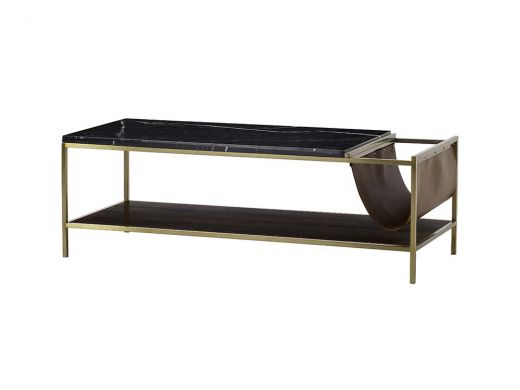 Chester Coffee Table With Magazine Holder