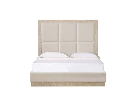 Raffles Bed-6Panels-USKNGIvory
