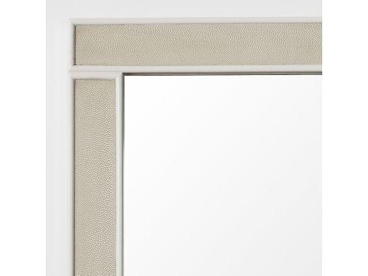 Alice Mirror Shagreen Ivory