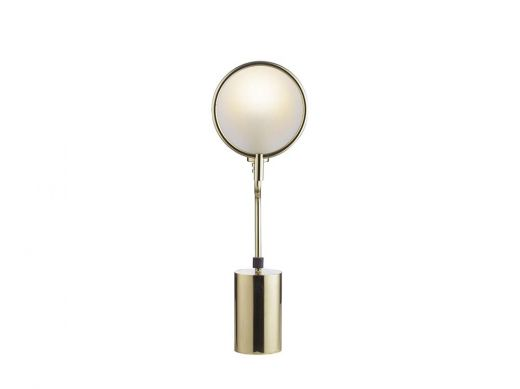 Eclipse Table Lamp  Brass