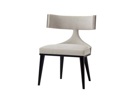 Oscar Dining Chair, Zebrano Black