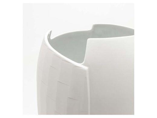Birch Vase - Matte White - Sml