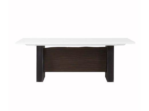 Jordan Dinning Table, White Acrylic