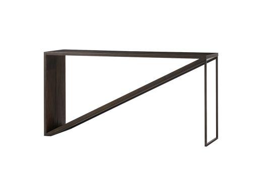 "Triangle Console Table, 60"""