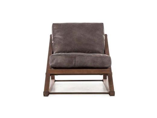 Teddy Chair - Black Leather