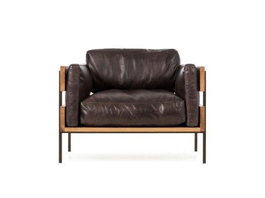 Carson II Chair, Espresso Leather