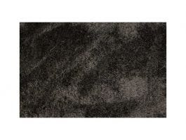Silky Shaggy Black and White Rug 9x12