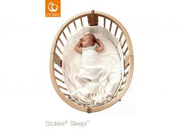 Sleepi Natural Mini Bed Include Drape Rod + Mattress - view2