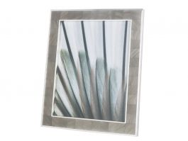 """Grey Mother of Pearl Photo Frame 8x10"""" - view2"""