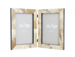 "Horn Foldable 4""x6"" Photo Frame - view2"