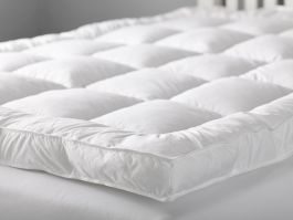 Indigo Duck Down Mattress Topper Double