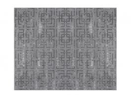 Lincoln Grey Rug 305x244cm - view2